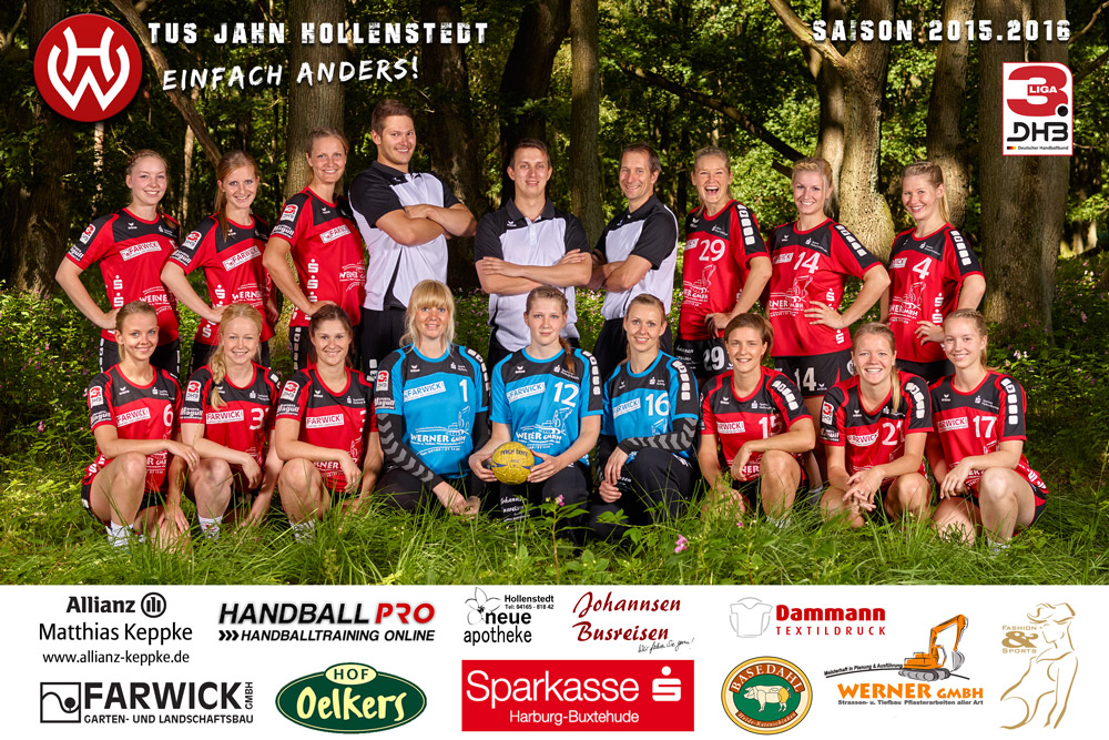 TuS Jahn Hollenstedt 1. Damen 2015/2016