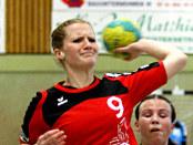 Katharina Krohn im Wurf