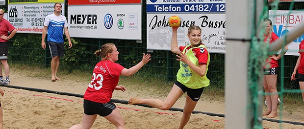 Beachhandball in Hollenstedt