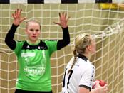 Hollenstedts Torhüterin Dorit Schwanke (li.) gab ihrem Team den nötigen Rückhalt