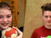 Hannah Schröder und Nick Heinsohn sind Hollenstedts Top-Talente